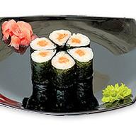 Роллы с острым лососем Фото