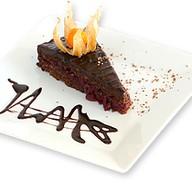 Вишневый торт Захер Фото
