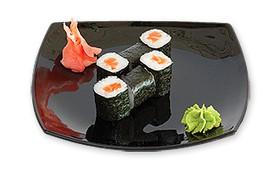 Роллы с копченым лососем - Фото