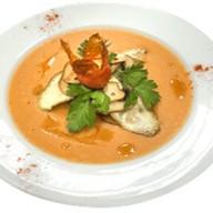 Томатный суп с пряностями Фото