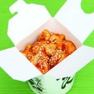 Курица в остро-сладком соусе Фото