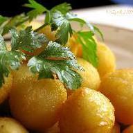 Картофельные шарик Фото