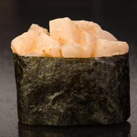 Острые суши с гребешком Фото