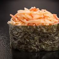 Острые суши с снежным крабом Фото