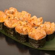 Острый запеченный с лососем Фото