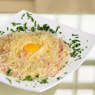 Спагетти Три мяса Фото