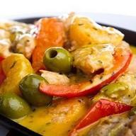 Тажин с картофелем и оливками Фото
