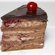 Вишнево-шоколадный торт Фото