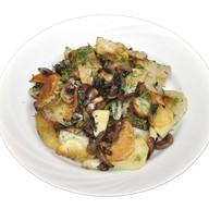 Картошечка жареная с грибами Фото
