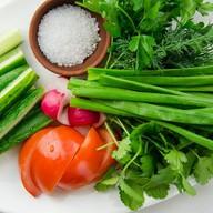 Овощная корзина Фото