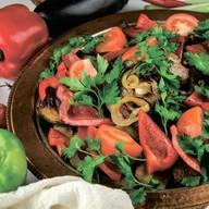 Садж с бараниной и овощами Фото