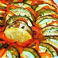 Рататуй из овощей Фото