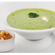 Суп-крем из шпината со сливками Фото