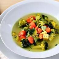 Суп «Овощной» с имбирем Фото