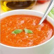 Томатный суп-крем Фото