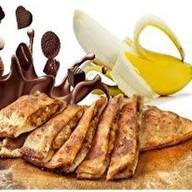 Пирог Шоколад с бананом Фото