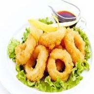 Кольца кальмара в темпуре Фото