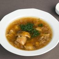 Суп из белых грибов со сметаной Фото