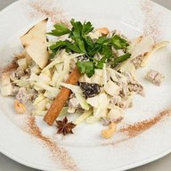 Салат из копченой индейки Фото