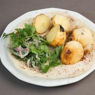 Запеченный картофель на мангале Фото