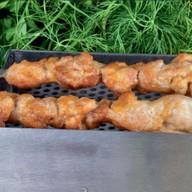 Шашлык из куриного бедра Фото