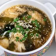 Острый суп с крабом Фото
