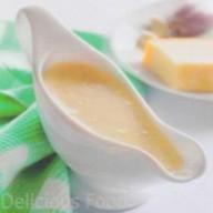 Сливочный соус Фото