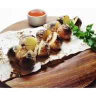 Картофель с курдюком Фото
