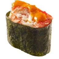 Спайси суши краб Фото