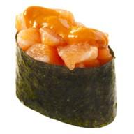 Спайси суши лосось Фото