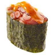 Спайси суши осминог Фото