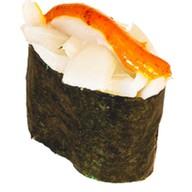 Спайси суши с кальмаром Фото