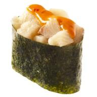 Спайси суши с окунем Фото