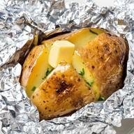 Картофель запечённый в фольге Фото