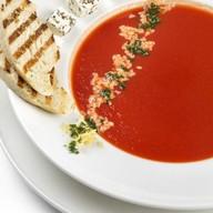 Суп-пюре из томатов с сыром Фета Фото