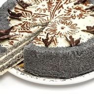 Нежный маковый-ореховый торт (целый) Фото