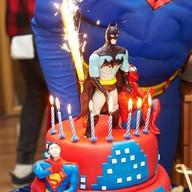 Торт Любимый герой по спец. заказу Фото