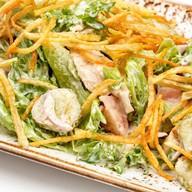 Деревенский салат с куриной грудкой Фото