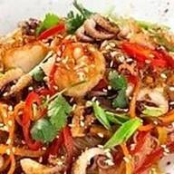 Рисовая wok лапша Фото