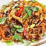 Гречневая wok лапша Фото