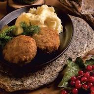 Котлеты с мятой картошкой Фото
