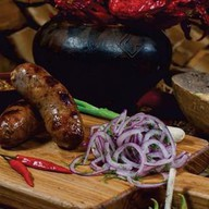 Колбаски из парного поросенка Фото
