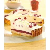 Бруснично-кремовый пирог Фото