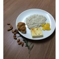 Комплексный завтрак с овсянкой Фото