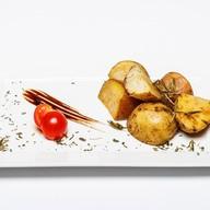 Картофель запеченный с розмарином Фото