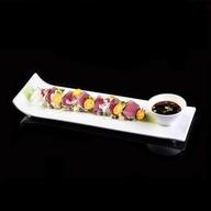 Туна темпура сарада Фото