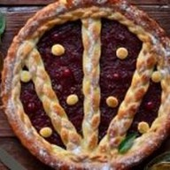 Пирог с абрикосом Фото