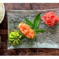 Капа суши с лососем Фото