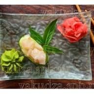 Капа суши с окунем Фото