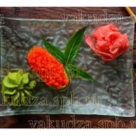 Капа суши с оранжевой масаго Фото